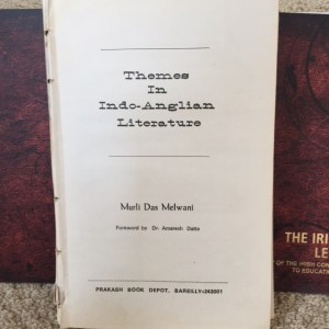 Themes in indo Anglian Literature