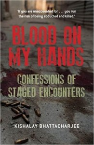 Blood on my hands cover page